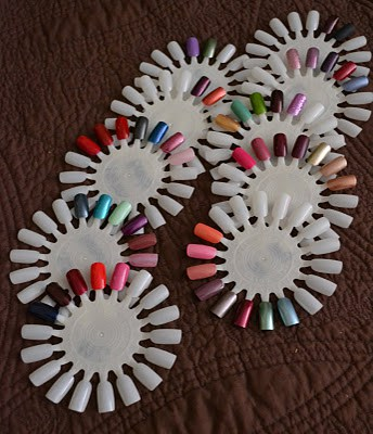 How to organize your nail polish collection