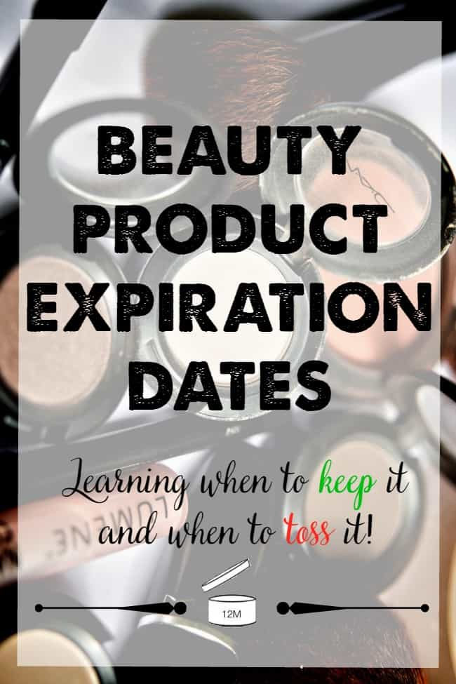 Beauty Product Expiration Dates: Keep It or Toss It? Learn the ins and outs of beauty products and when to keep them or toss them out.