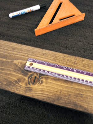 DIY Giant Ruler Growth Chart | This Girl's Life Blog