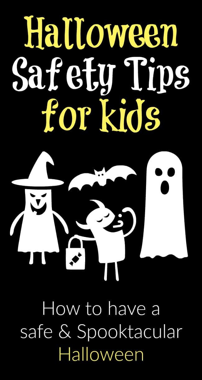 To help ensure you and your children have a safe holiday, I have compiled this list of simple yet really important to remember Halloween Safety Tips. #Halloween #safetytips #advice #parenting #trickortreating