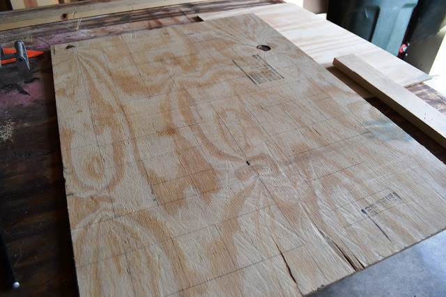 DIY: Pieced Wood Artwork {PB Inspired}
