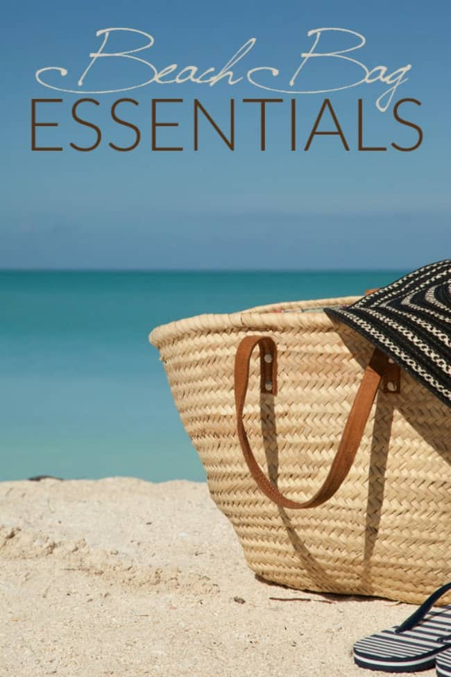 Heading to the beach or pool this summer? These are your beach bag essentials. The must have summer items!!