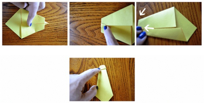 How to make a origami tie!
