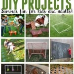 Looking for ways to get outdoors this summer and have fun with your kids? Consider building one of these fun oversized games.
