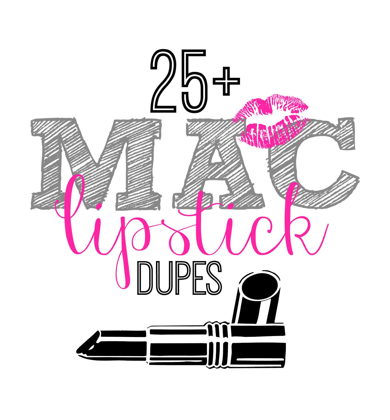 25+ MAC Lipstick Drugstore Dupes | This Girl's Life Blog
