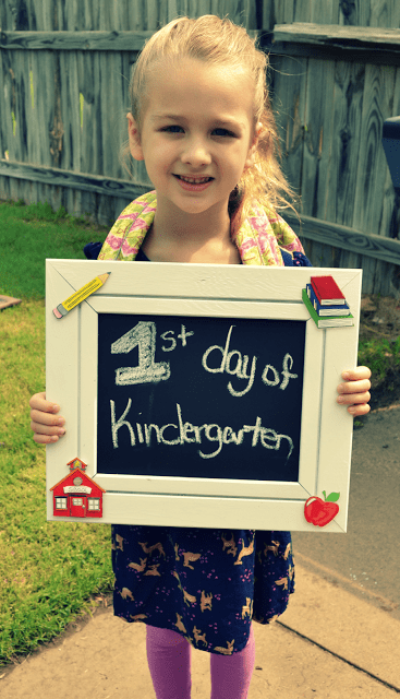 This Girl's Life - First Day of Kindergarten