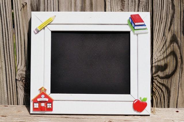 Easy DIY: First Day of School Frame