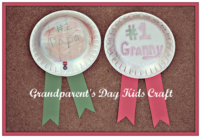 Grandparent's Day Kids Craft