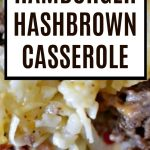 Hamburger Hashbrown Casserole is the perfect quick and easy dinner to throw together on a busy night. It will hit the spot!