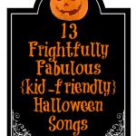 13 Kid-friendly Halloween Songs