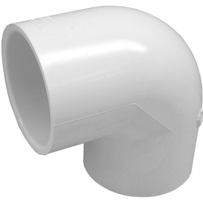 Genova Products 30710CP 1-Inch 90 Degree PVC Pipe Elbow - 10 Pack