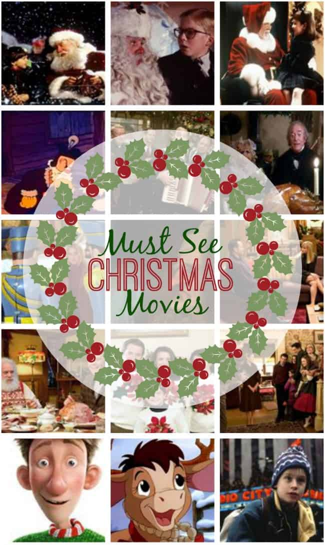 Looking for something to do tonight? Check out one of these must see Christmas movies to get you into the holiday spirit! #Christmas #ChristmasMovies #movies #holidaymovies