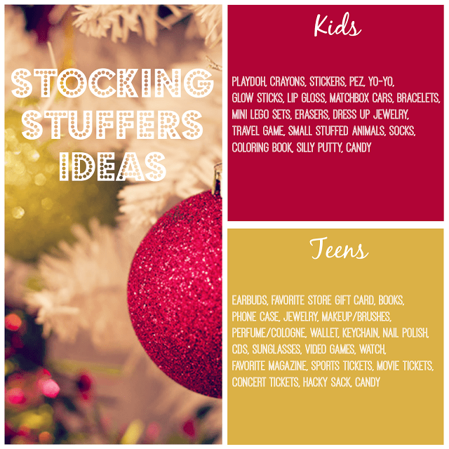 Stocking Stuffer Ideas for Kids & Teens