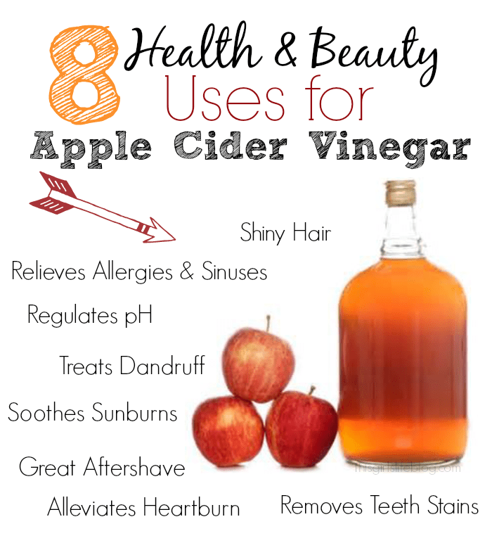 8usesapplecidervinegar