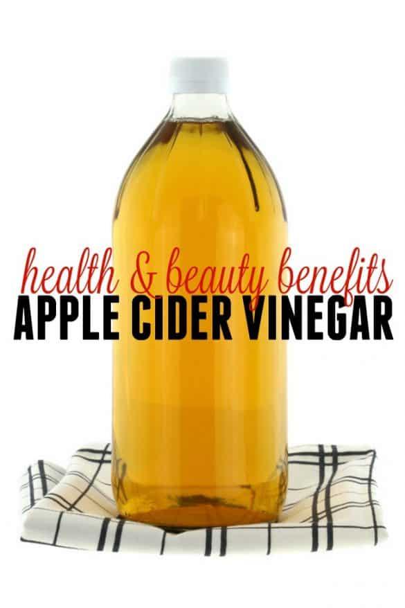 8 fantastic health and beauty benefits of Apple Cider Vinegar.