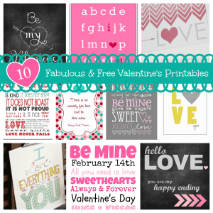 10 Fabulous & Free Valentine's Printables | This Girl's Life Blog
