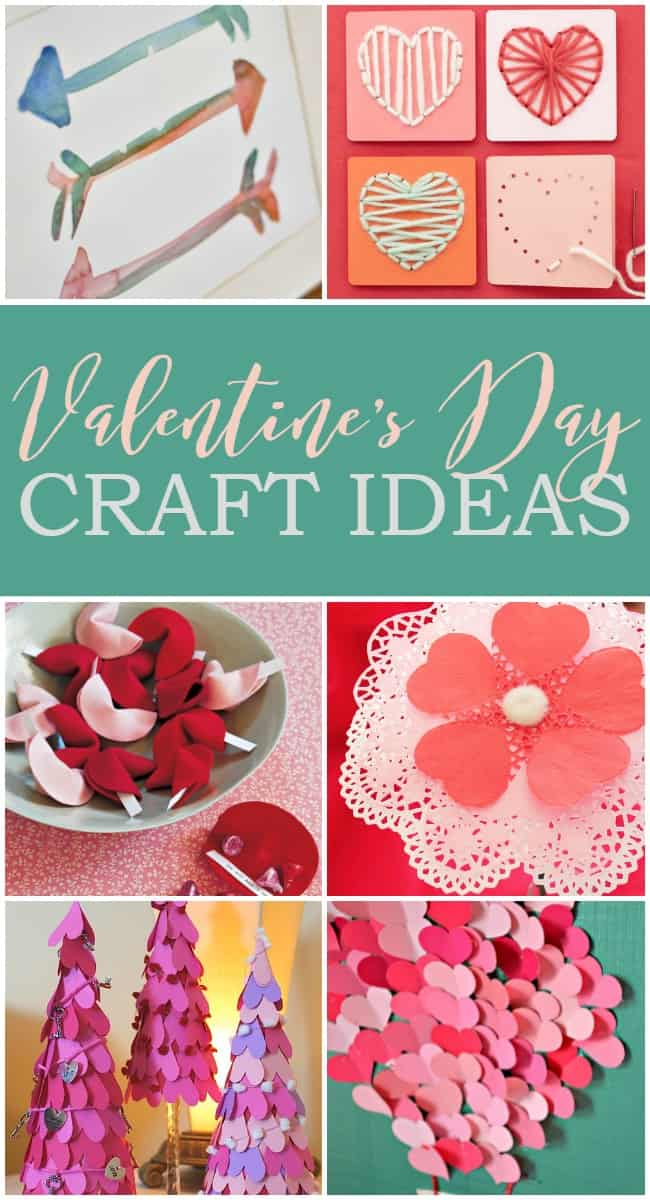 Show your love for this fun holiday by making one of these super cute Valentine's Day crafts or DIY Ideas. From heart hand warmers to felt fortune cookies.
