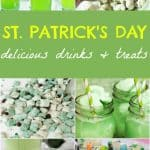 Celebrate St. Patrick's Day with these yummy and delicious St. Patrick's Day drinks and treats. All in fun holiday green colors!