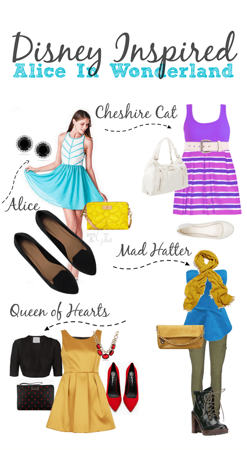 disney inspired outfits alice in wonderland