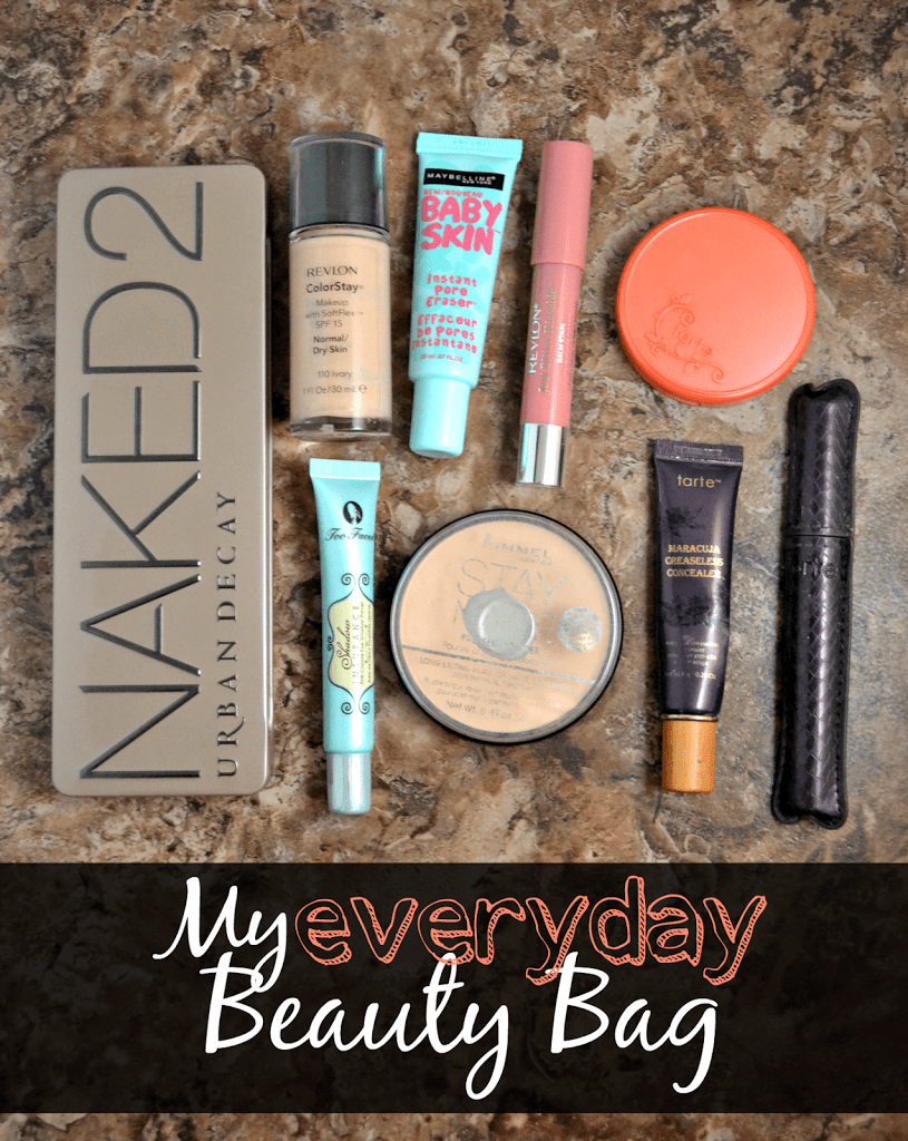 Peek Inside My Everyday Beauty Bag | This Girl's Life Blog