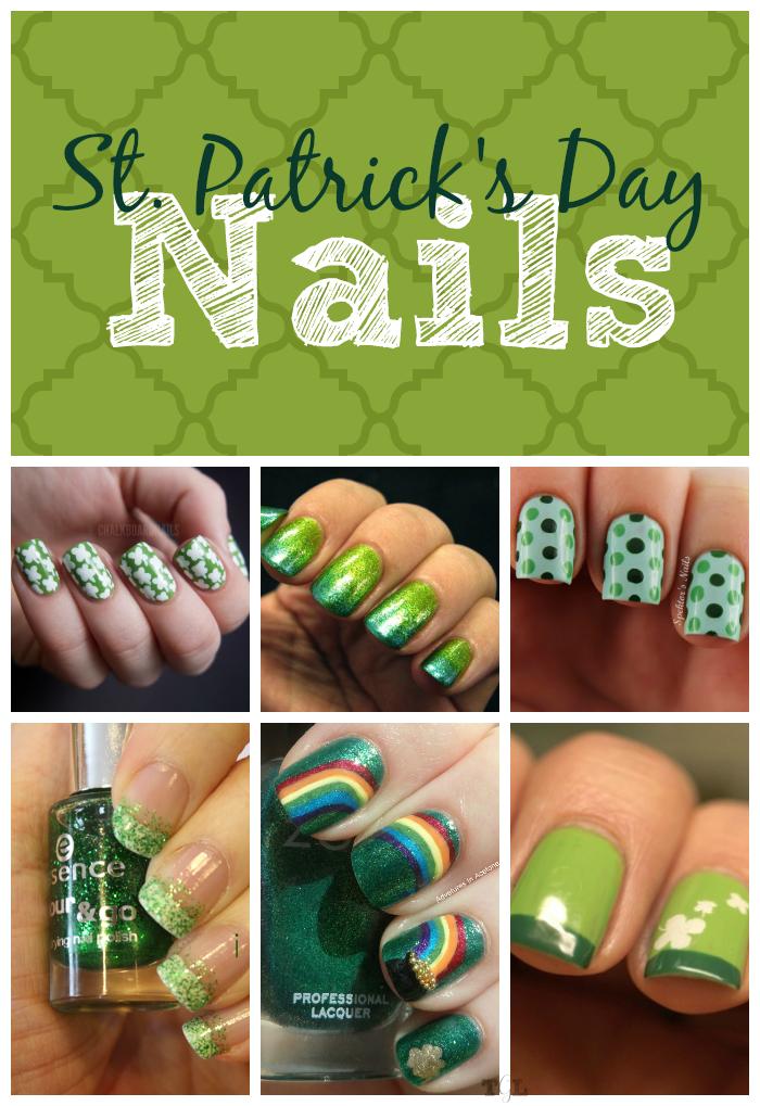 St. Patrick's Day Nail Art | This Girl's Life Blog