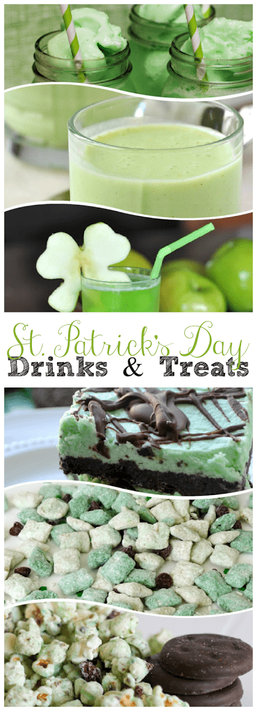 Delicious St. Patrick's Day Drinks and Treats | This Girl's Life Blog