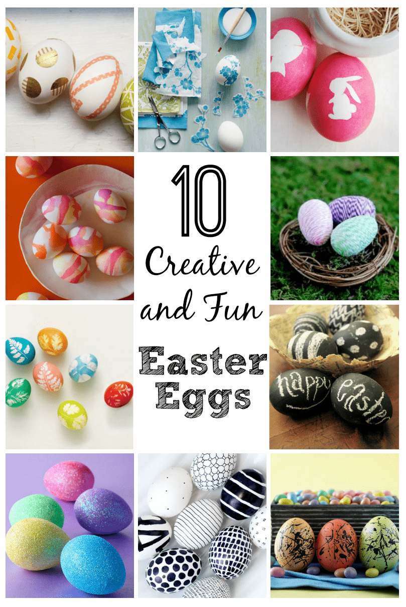 Easter egg decorating 10 creative and fun ideas this Creative easter egg decorating ideas