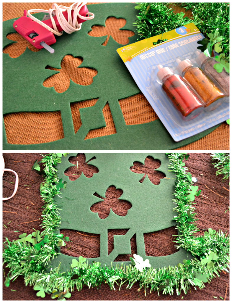 Dollar Store Crafting: St. Patrick's Day Wreath Directions | This Girl's Life Blog