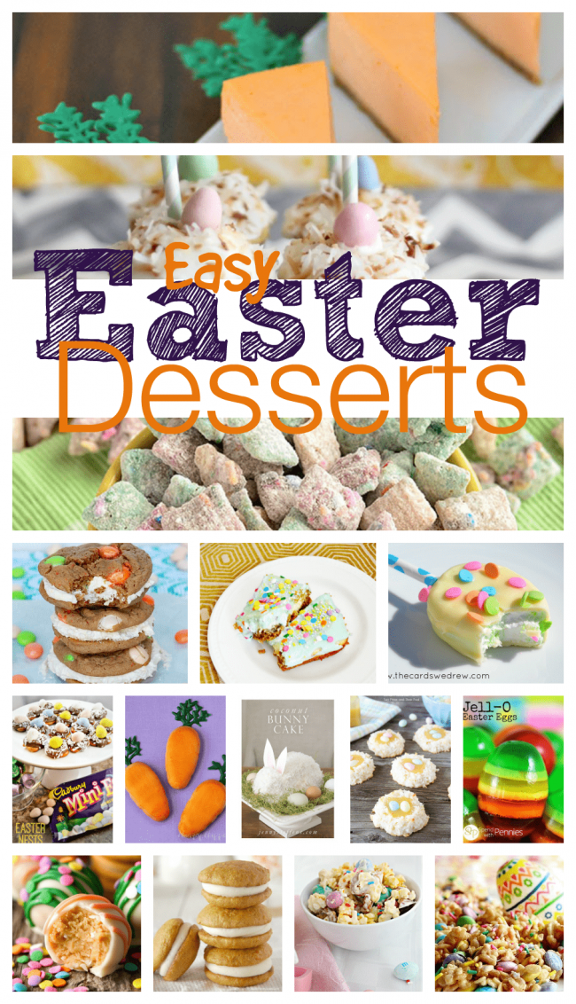 Your Easter dinner is probably already planned out with lots of traditional recipes. However, the Easter dessert can always be a fun new twist to add on to your menu. I have rounded up 15 of my favorite sweet and easy Easter desserts just for you. Make your shopping list, the bunny is coming soon! #Easter #Desserts #EasyDesserts #EasterDesserts