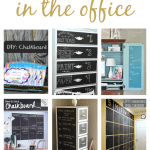 Chalkboard Office Ideas