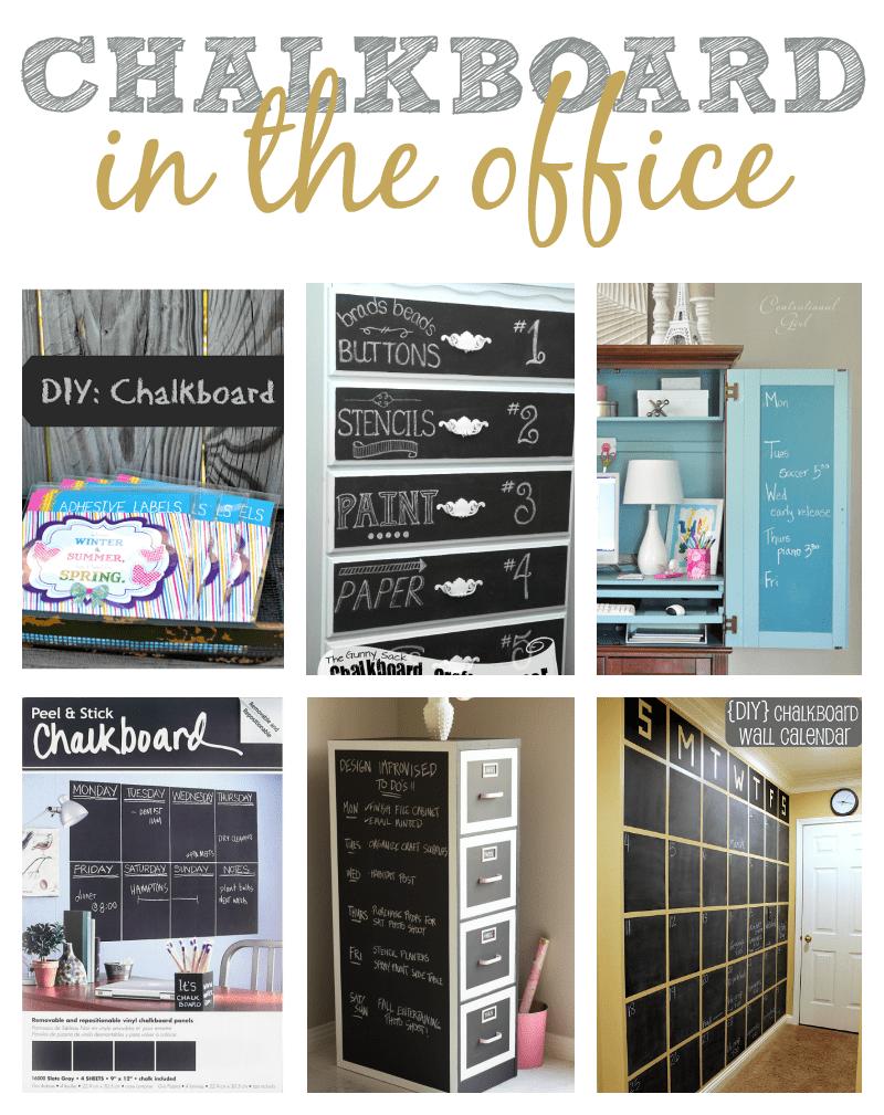 Chalkboard Office Ideas