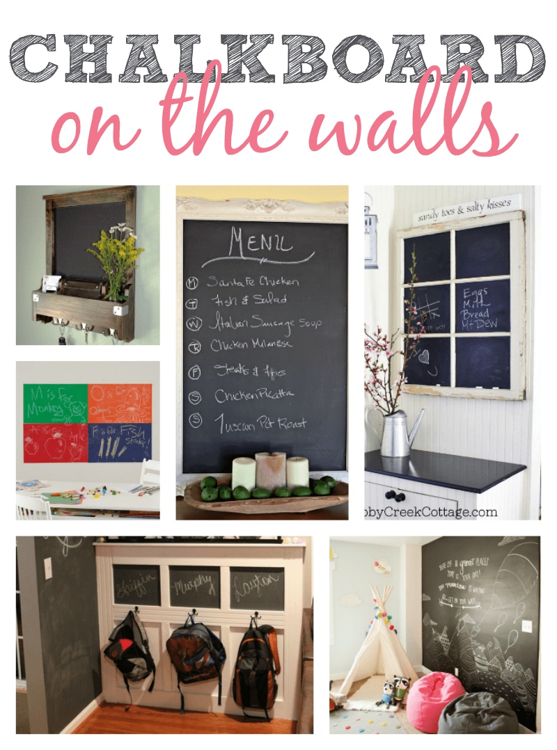 Chalkboard Ideas On The Walls