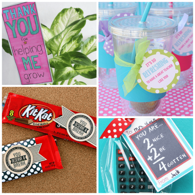 8 awesome teacher appreciation printables to show your thanks to the teacher's who help our children grow one step closer to great adults each year.