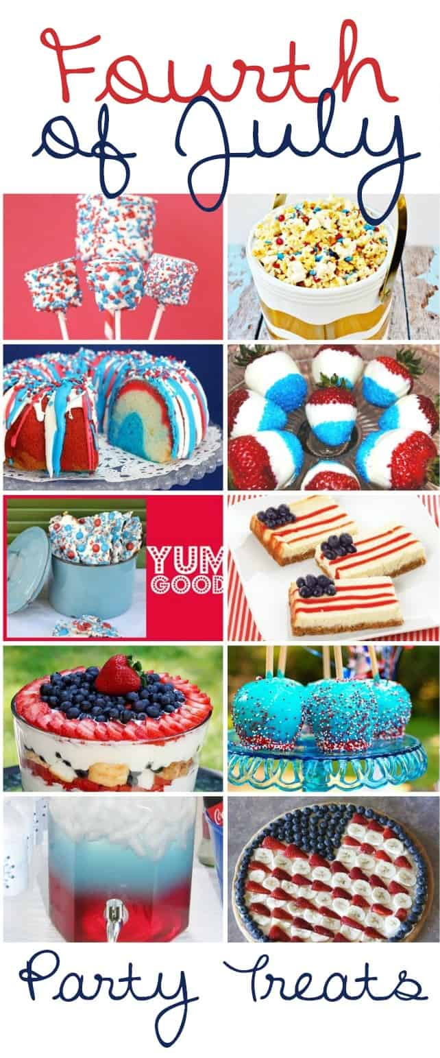 What fireworks!? These mouthwatering 4th of July party treats and dessert recipes will add a colorful and patriotic touch to any holiday table.