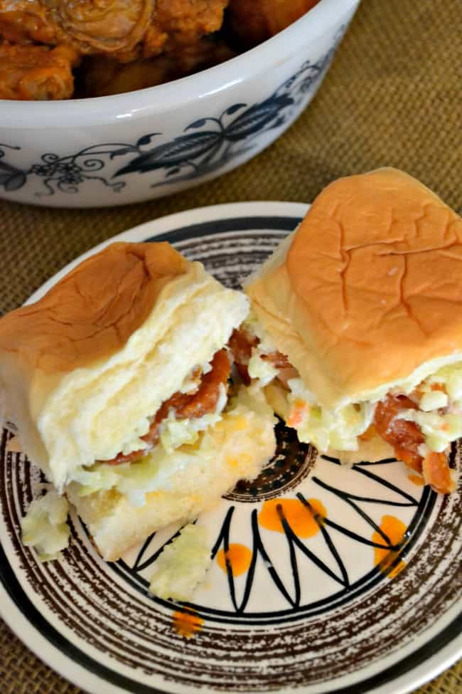 Hot Wing Sliders - Perfect for any party.