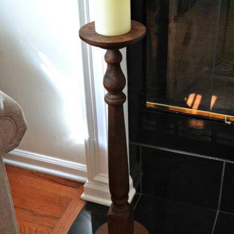 DIY Large Candle holder