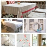 14 Fabulous Drop Cloth Projects! So many great ideas all in one post.