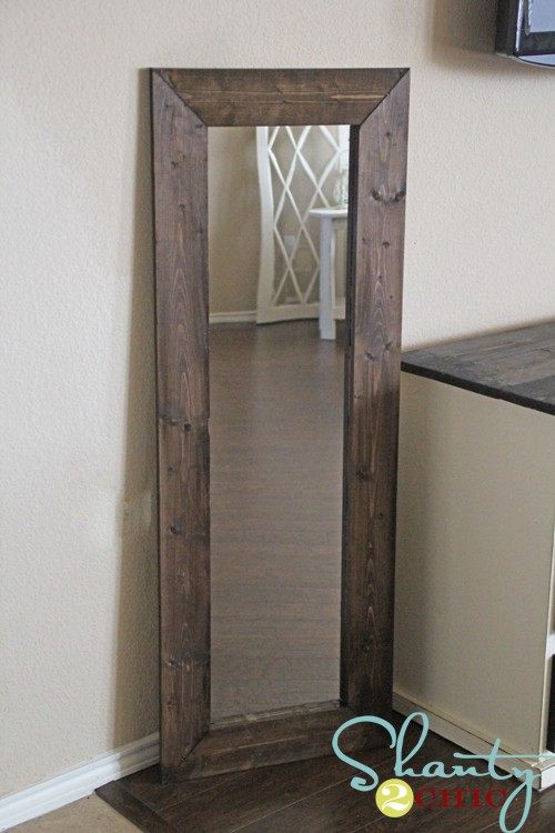 $15 framed mirror