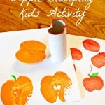 Kids Activity: Apple Stamping