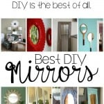 Best DIY Mirrors