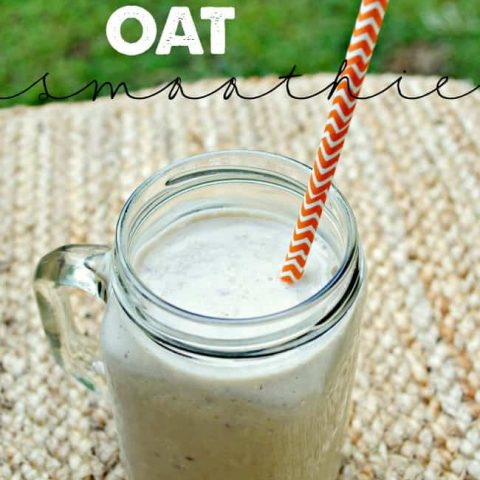 Apple Banana Oat Smoothie