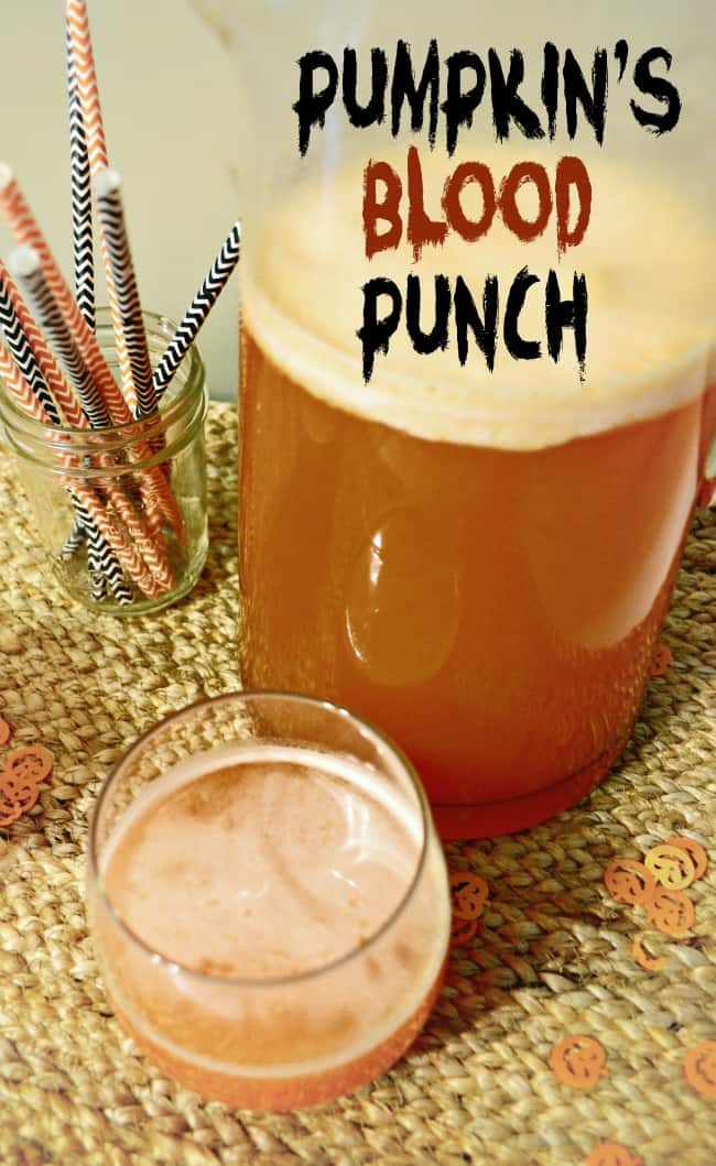 Pumpkin's Blood Halloween Punch