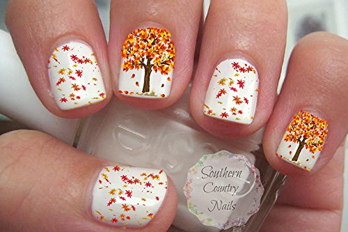 Thanksgiving Nails: 12 Beautiful Nail Art Designs