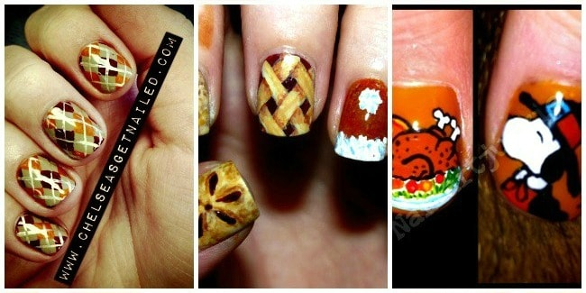 Looking for some beautiful Thanksgiving nails? You came to the right place.  I have - Thanksgiving Nails: 12 Beautiful Nail Art Designs