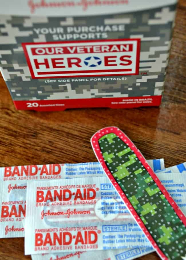 BAND-AID Our Veteran Heroes