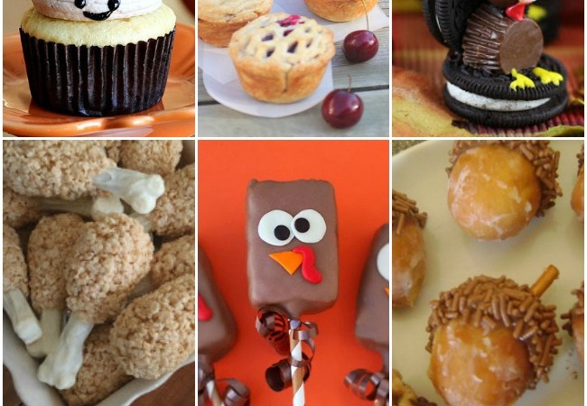 Cute Thanksgiving Desserts: Easy Recipe Ideas
