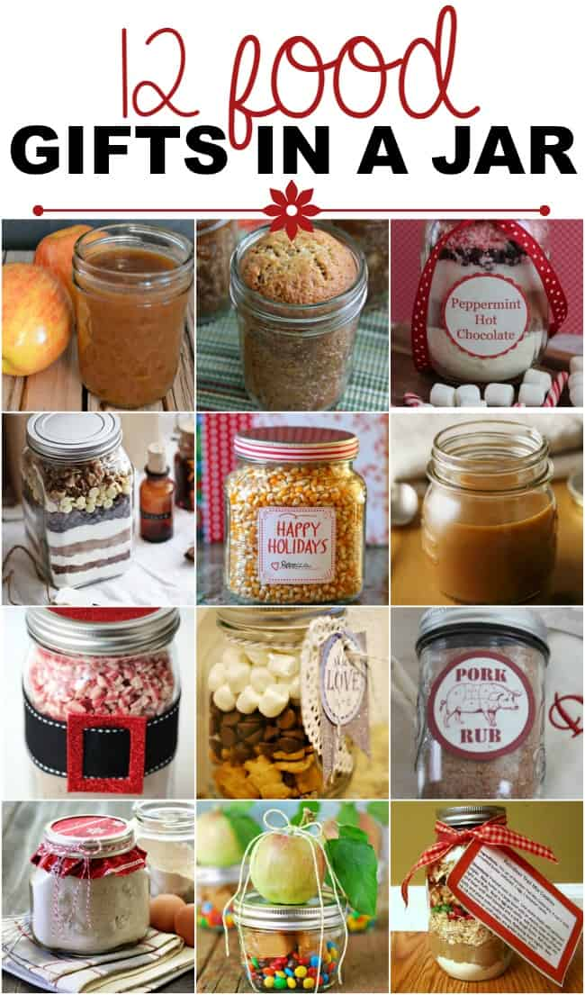 Christmas gifts in a jar non edible ideas for Edible christmas gift ideas to make