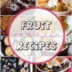 Best fruit cobbler recipes!