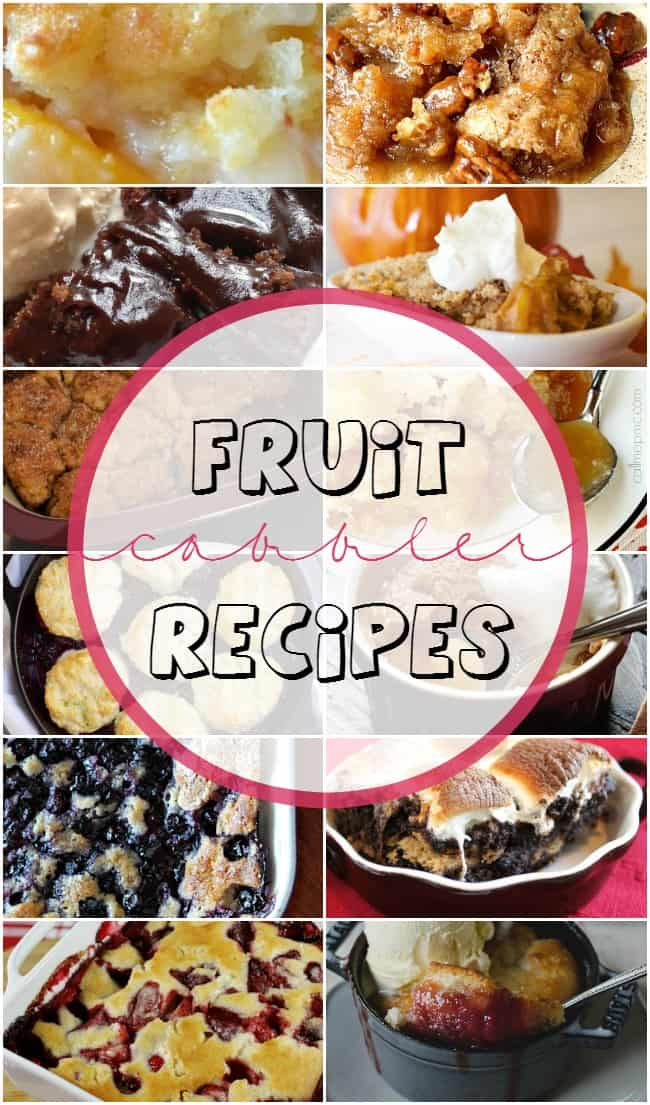 Best fruit cobbler recipes!
