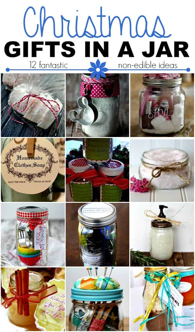 Christmas Gifts In A Jar Non Edible Ideas This Girl S Life Blog